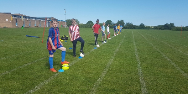 Football Skills Session School Year's 4 to 6