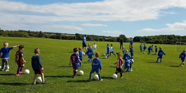 Football Skills Session School Year's 1 to 3