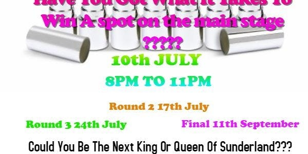 Drag Kings and Drag Queens of Sunderland Pride Competition