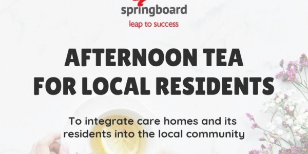 Free Afternoon Tea for Local Residents