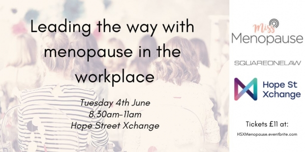 Leading the way with menopause in the workplace
