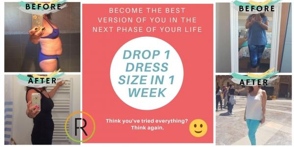 Drop 1 Dress Size In 1 Week-FREE