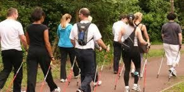 Lunch time Nordic Walk from B.I.C. at Sunderland Enterprise Park