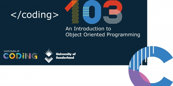 Coding 103 - An introduction to Object Oriented Programming