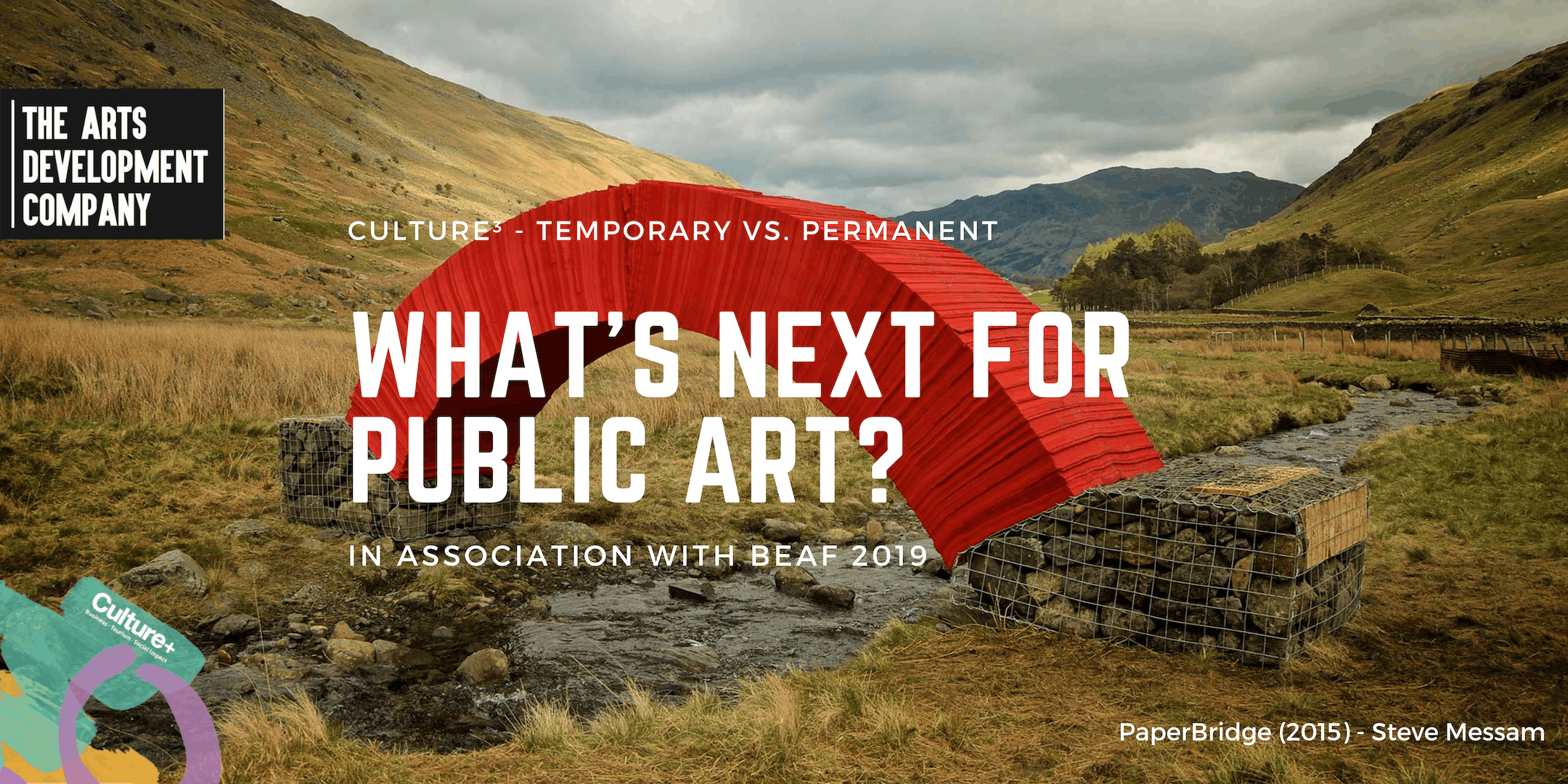 Culture3 - What is next for public art? Temporary v.s. Permanent