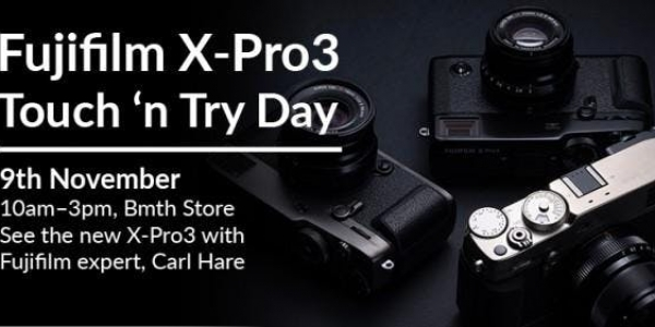 Fujifilm X-Pro 3 Touch and Try Day