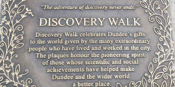 Dundee's Discovery Walk with Kelly-Ann Marr