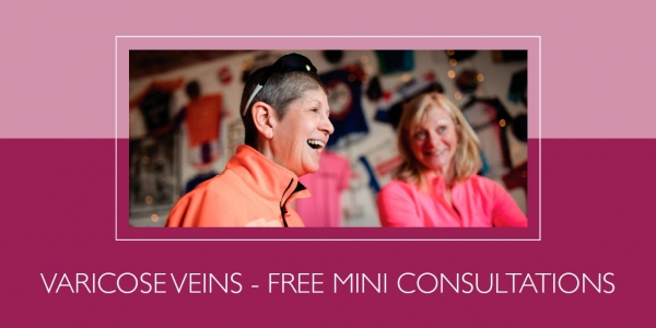 Free mini consultations for varicose veins