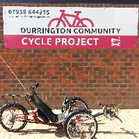 Durrington Community Cycle Project logo