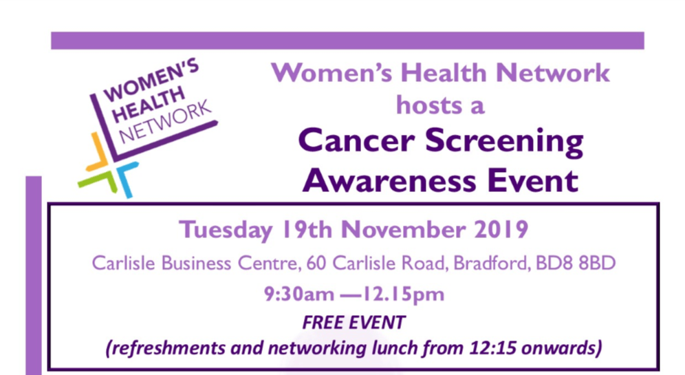 Cancer Screening Awareness Event (WHN)