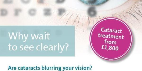 Cataract mini consultation evening - November