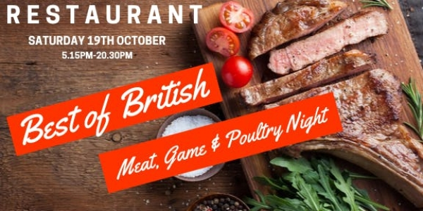 British Meat, Game, Poultry Night