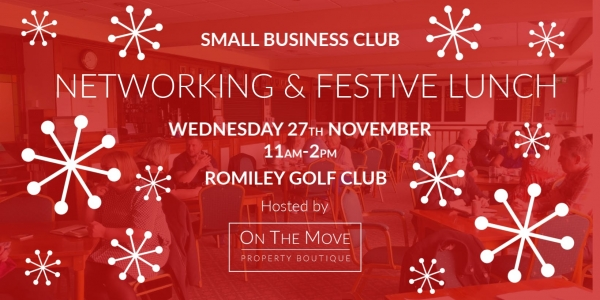 SMALL BUSINESS CLUB | NETWORKING & FESTIVE LUNCH