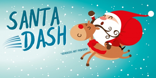 Wythenshawe Park Santa Dash 2019