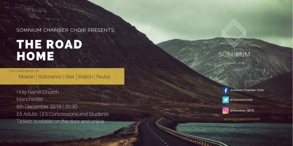Somnium Chamber Choir Presents: The Road Home