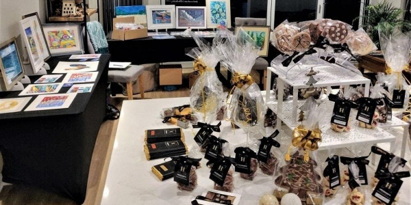Chocolate and Art Shopping Evening with local artist & artisan maker