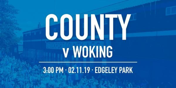 #StockportCounty vs Woking F.C.