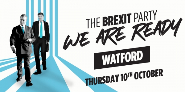 The Brexit Party - Watford