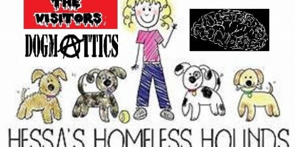 The VISITORS fundraising gig for HESSA'S HOMELESS HOUNDS