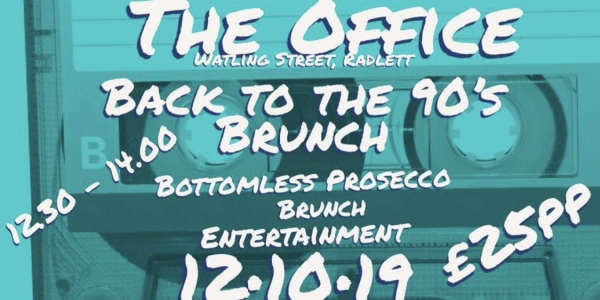 Back to the 90's Bottomless Brunch