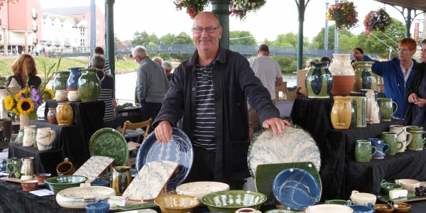Exeter Potters' Market -  A Westcountry Potters event.