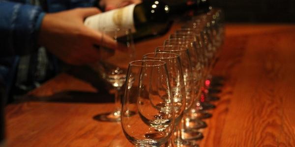 Pi Singles at Couslon's Wine Cellar Tasting