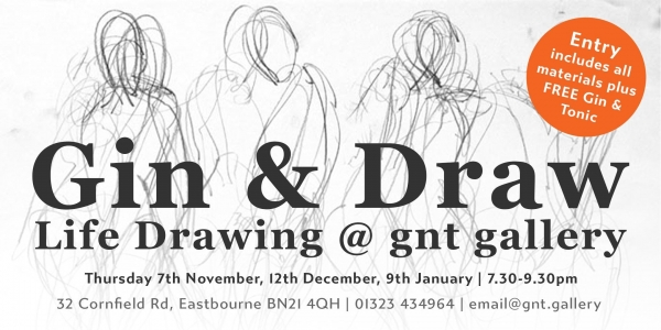 Gin & Draw: life drawing session