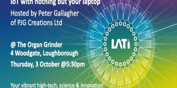 LATi Bar: IoT with nothing but your laptop