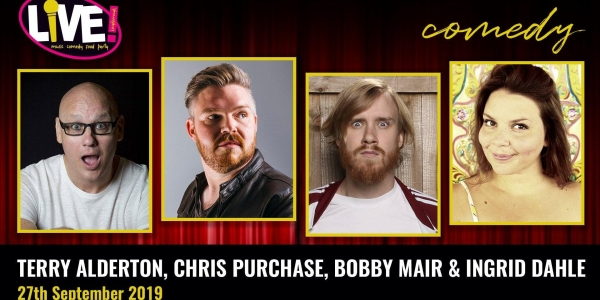 Stand-up Comedy Live! -  Friday 27th September 2019