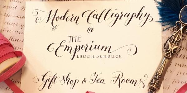 Modern Calligraphy Classes