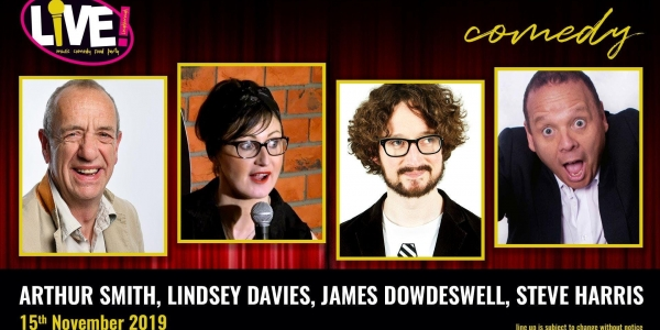 Stand-up Comedy Live! -  Friday 15th November 2019