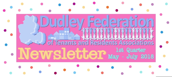Dudley Federation Newsletter 1819 Q1 - May to July