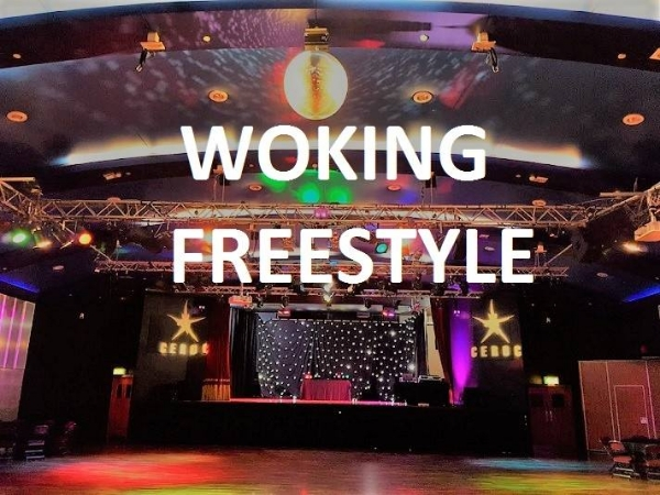 Woking Saturday 5th May  Ceroc Freestyle