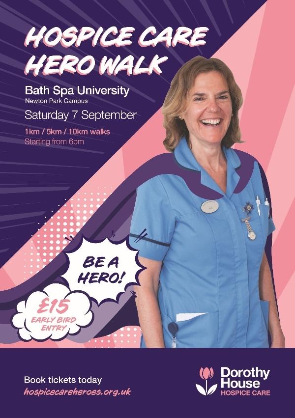 Hospice Care Hero Walk