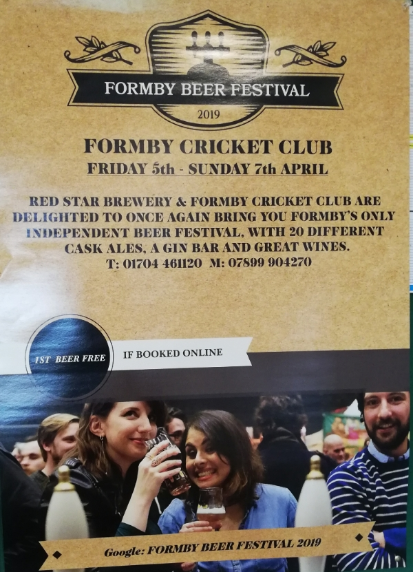 Formby Beer Festival 2019