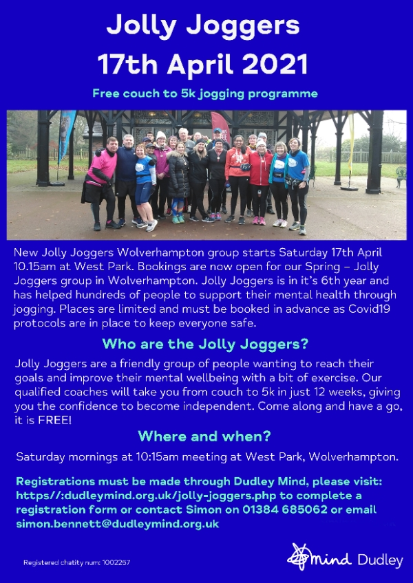 Jolly Joggers - Free couch to 5k programme!