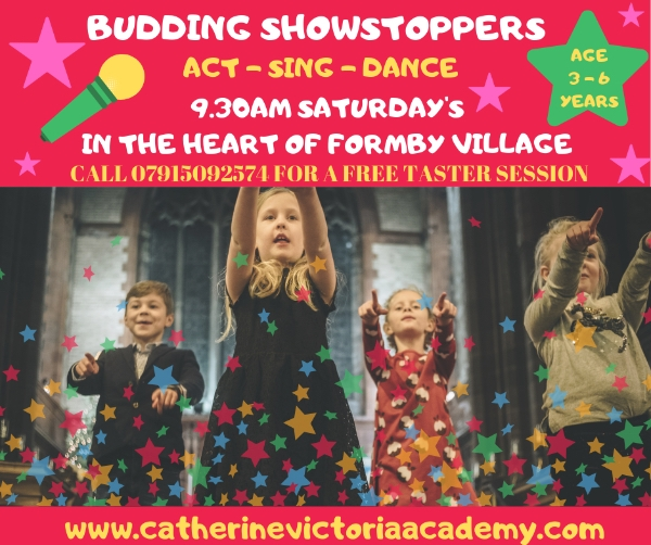 FREE SESSION - BUDDING SHOWSTOPPERS - ACT - DANCE - SING AGE 3 - 6