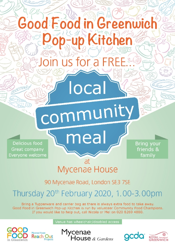 Community FREE meal - 20th February 2020