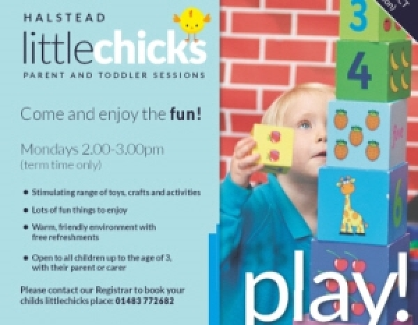 Halstead Little Chicks (Parent and Toddler group)