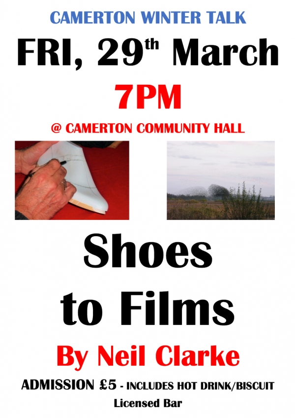 Camerton Winter Talk - Shoes to Films