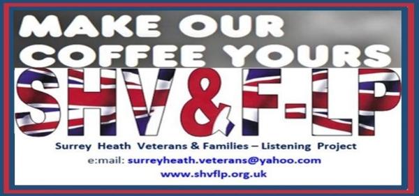 10:00am Veterans' & Families Community Drop-ln Tuesday 9th April 2019