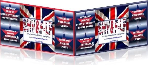 Veterans & Families of the British Armed Forces Drop-ln Tuesday 14th  May 2019