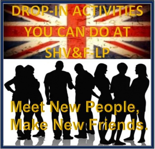 SHV&F-LP Veterans & Families Community Drop-in Tuesday 14th  May 2019