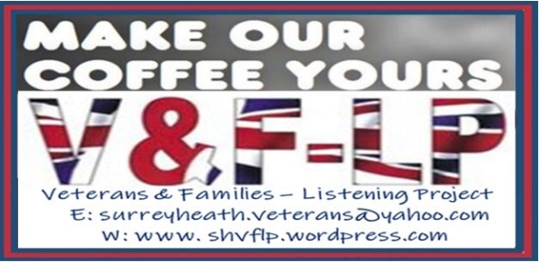 Community, Drop-in Armed Forces Veterans' & Families Tuesday 9th July 2019