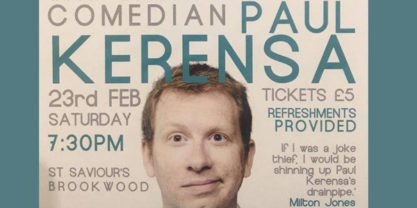 Comedy Night with Paul Kerensa