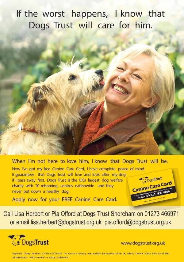 Dogs Trust: Canine Care Card