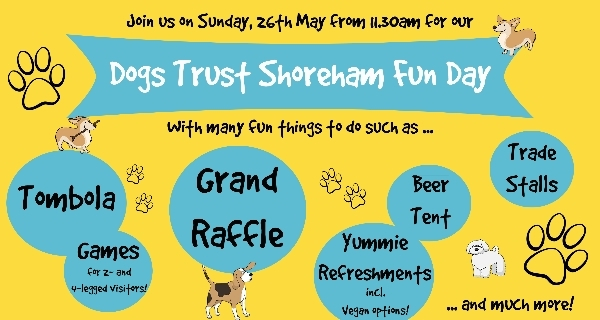 Join us for Dogs Trust Shoreham's biggest event of the year!