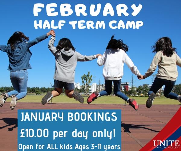 UNITE FORMBY - February Half Term Camp: Book in Jnauary