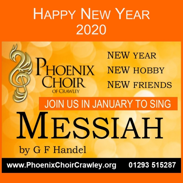 Sing Messiah with Phoenix Choir -  New Year, New Hobby, New Friends