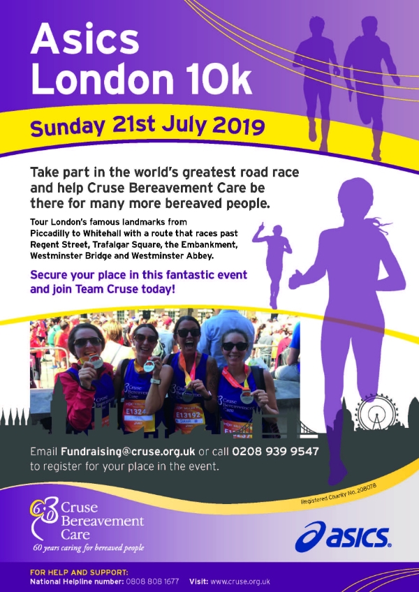 Would you like to take part in the Asics London 10K on 21st July?